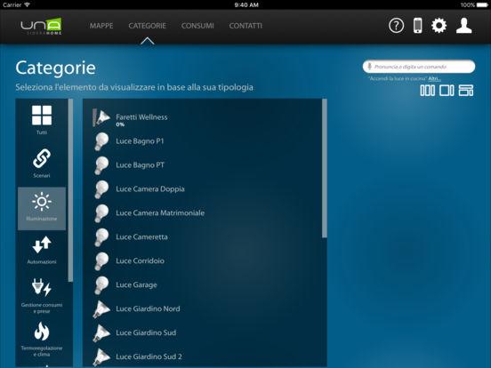 UNA Mobile 2 on iPad
